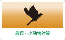 鳥類・小動物対策